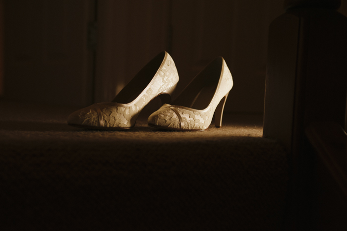 beautiful cumbrian wedding shoes